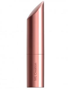 Золотистый мини-вибратор Love Bullet - 8,4 см.