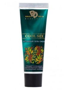 Интимная смазка COOL SEX с пролонгирующим эффектом - 30 мл.