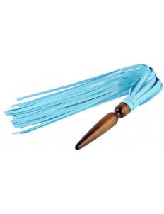 Голубая лаковая плеть  Комета  - 60 см.