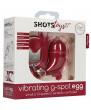 Красное виброяйцо Small Wireless Vibrating G-Spot Egg