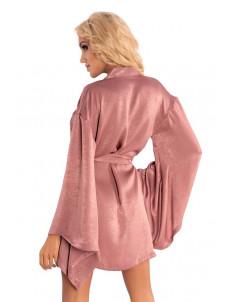 Роскошный пеньюар-кимоно FaomiI с поясочком