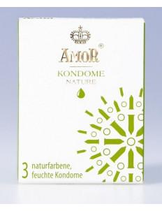 Классические презервативы AMOR Nature - 3 шт.