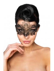 Золотистая карнавальная маска  Бекрус
