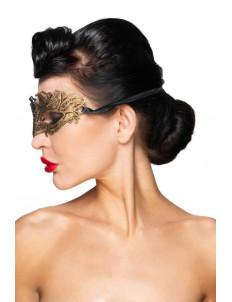 Золотистая карнавальная маска  Денеб
