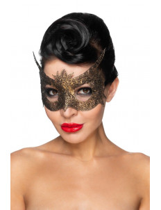 Золотистая карнавальная маска  Альхена