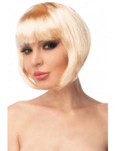 Бежевый парик  Моммо