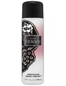 Женский водно-силиконовый лубрикант Wet Elite Femme - 89 мл.