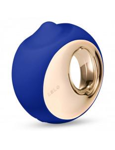 Синий клиторальный стимулятор Lelo Ora 3