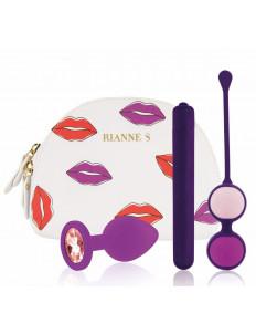 Фиолетовый вибронабор First Vibe Kit