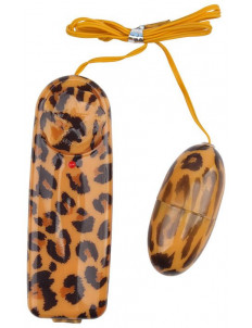 Леопардовое виброяйцо Leopard Print Love Egg