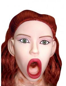Надувная кукла с вагиной и анусом Sexy   Psycho Inflatable Love Doll with CyberSkin Pussy   Ass