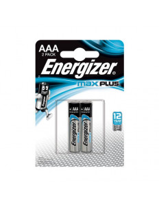 Батарейки Energizer MAX PLUS LR03/E92 AAA 1.5V - 2 шт.