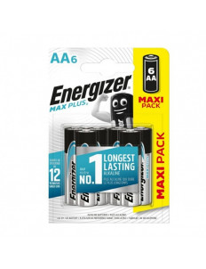 Батарейки Energizer MAX PLUS LR6/E91 AA 1.5V - 6 шт.