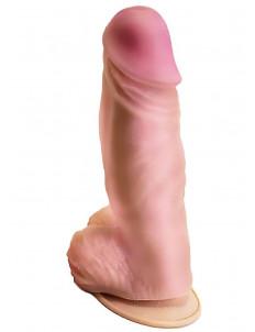 Вибромассажер-гигант  с выносным блоком управления - 24,5 см.