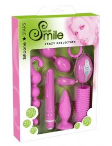 Розовый набор секс-игрушек