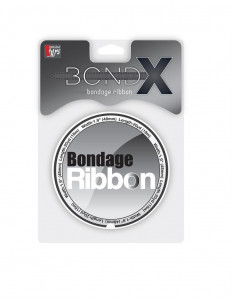Белая лента для связывания BONDX BONDAGE RIBBON - 18 м.