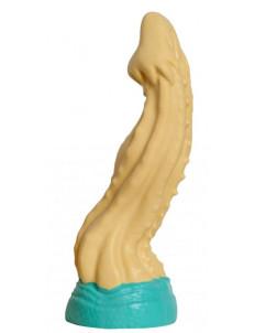 Бежевый фаллоимитатор  Песчаная Змея medium  - 24 см.