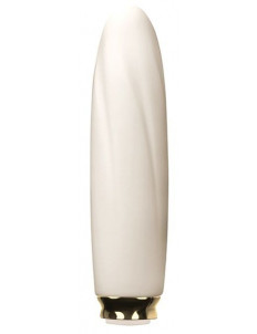 Белый мини-вибратор COMPACT VIBE ELECTRA - 11 см.